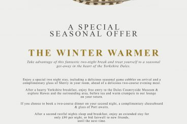 WINTER WARMER SPECIAL OFFER