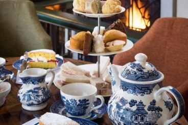 AFTERNOON TEA AT SIMONSTONE HALL