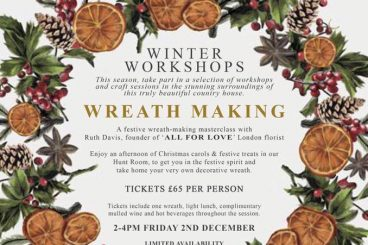 WREATH-MAKING WORKSHOP!