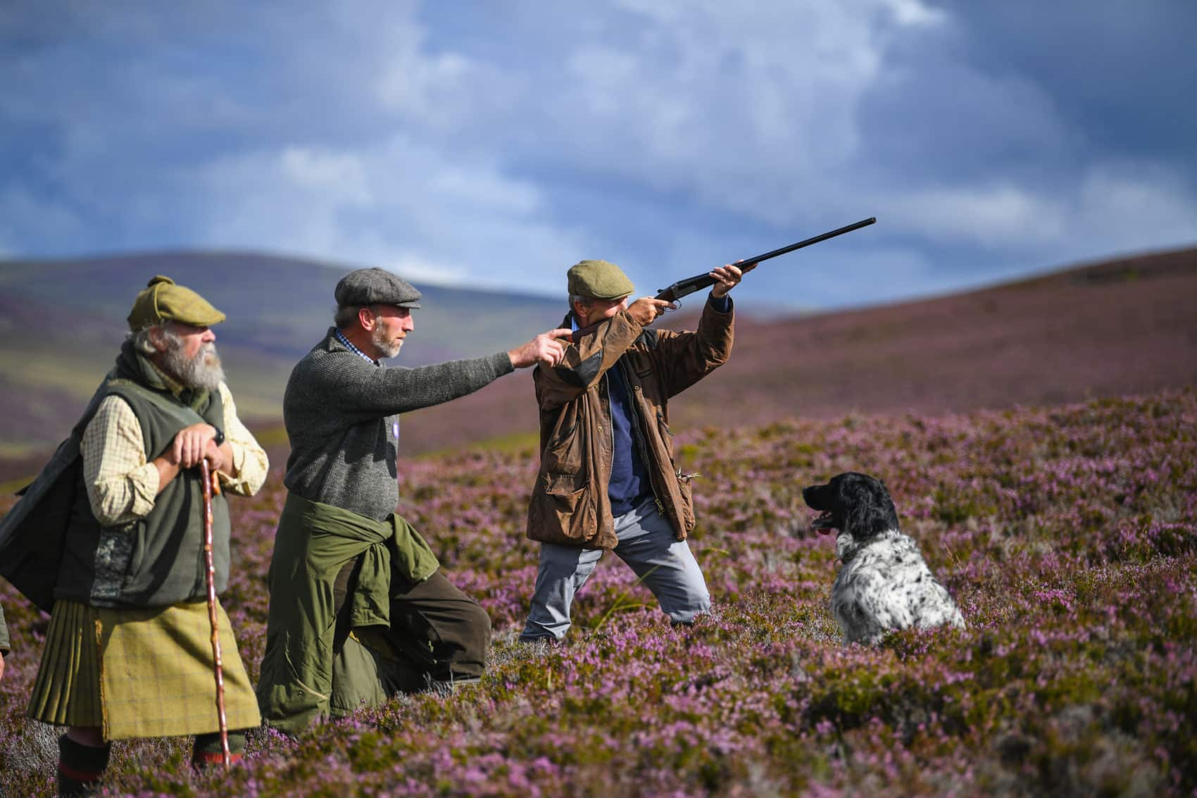 Shooting at Simonstone Hall Hotel - Grouse Shooting, Pheasant Shooting, Clay Pigeon Shooting or Film and Movies Shoots in Hawes, North Yorkshire Dales