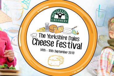 Yorkshire Dales Cheese Festival!