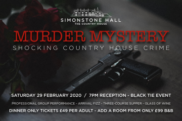 MURDER MYSTERY EVENT!